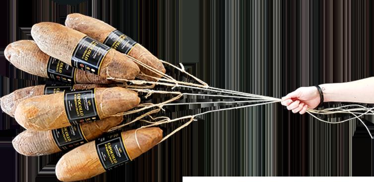 capocolli pugliesi simili a palloncini volanti